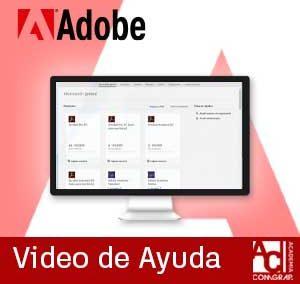 Ver plantillas de softwares creadas en el portal de Adobe