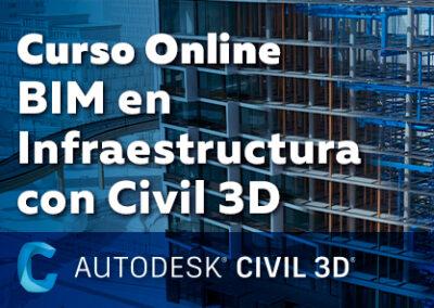 Curso BIM en Infraestructura con Autodesk Civil 3D
